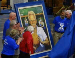 Sweeney Family unveils portrait of Francis X Sweeney by AVonnHartung