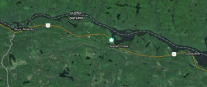 Bissett Creek, Ontario (satellite map)