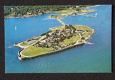 Aerial view of Enders Island, Mystic, Connecticut