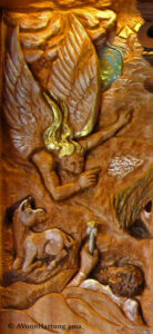 Holy Family detail_Joseph's prophetic dream to safety in Egypt