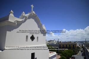 San Jose Church in San Juan Puerto Rico